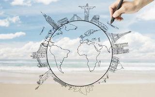 Бесплатные фото бизнес,план,глобус,самолет,великие,сооружения,башни