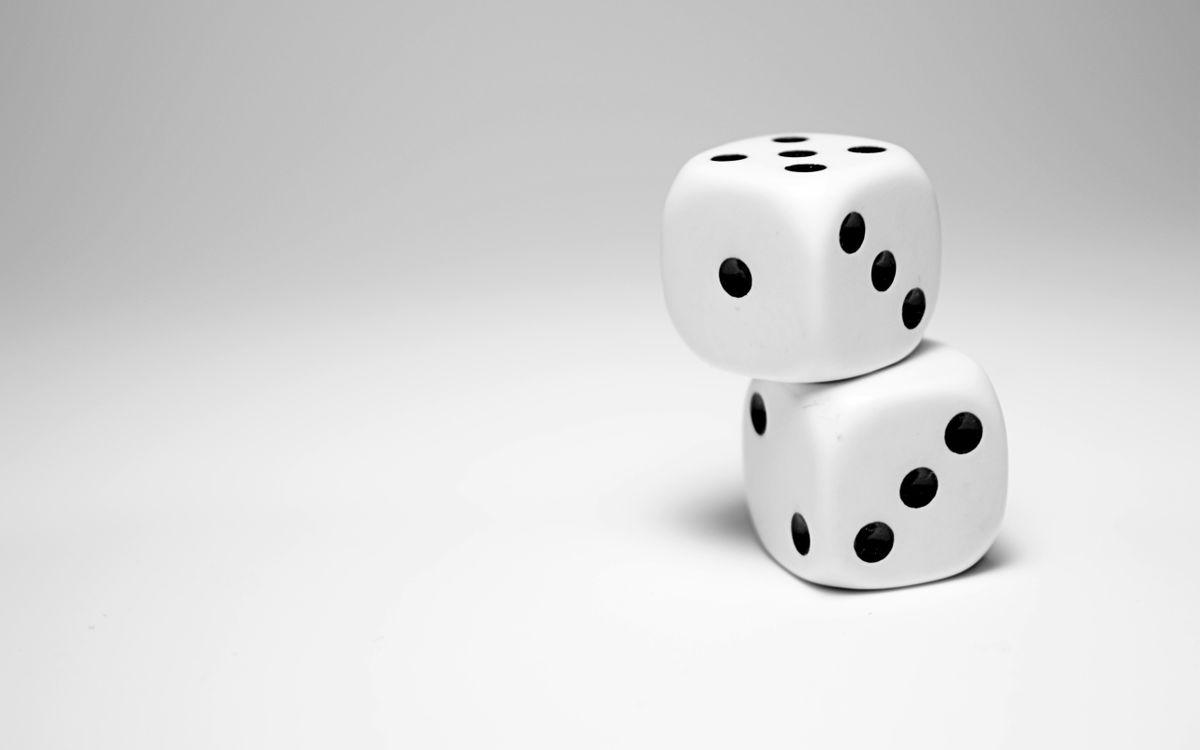 Фото бесплатно кубики, два, игра - на рабочий стол