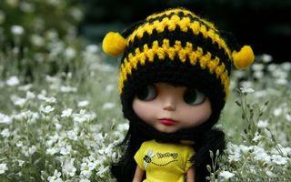 Фото бесплатно кукла, девочка, шапка