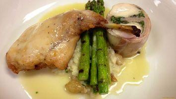 Бесплатные фото куцрица,ножка,соус тарелка,зелень,лук,еда