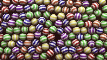 Бесплатные фото шары,шарики,полоски,рисунок,узор,линии,разноцветные