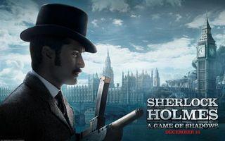 Обои шерлок холмс, фильм, sherlock holmes, мужчина, фильмы