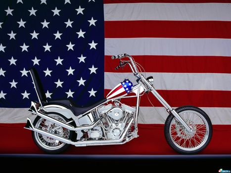 Бесплатные фото сша,флаг,красивый,бак,руль,колеса,путешествия,мотоциклы