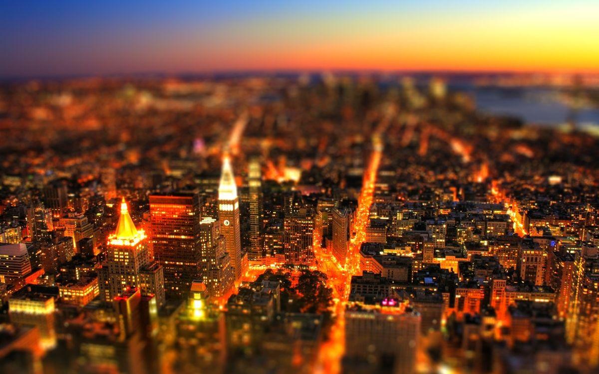 Фото бесплатно высота, огни, свет - на рабочий стол