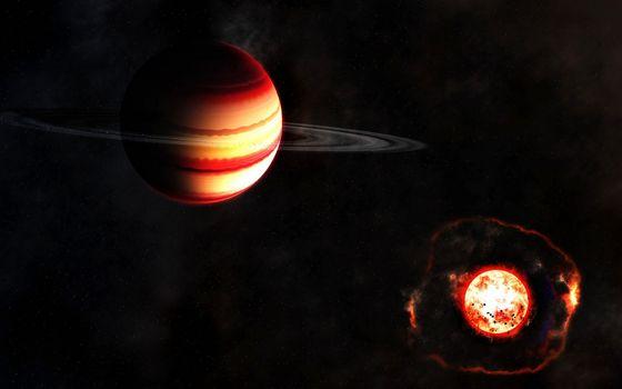 Фото бесплатно солнце, атмосфера, космос