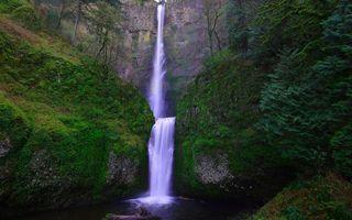 Бесплатные фото скала,обрыв,камни,водопад,река,растительность