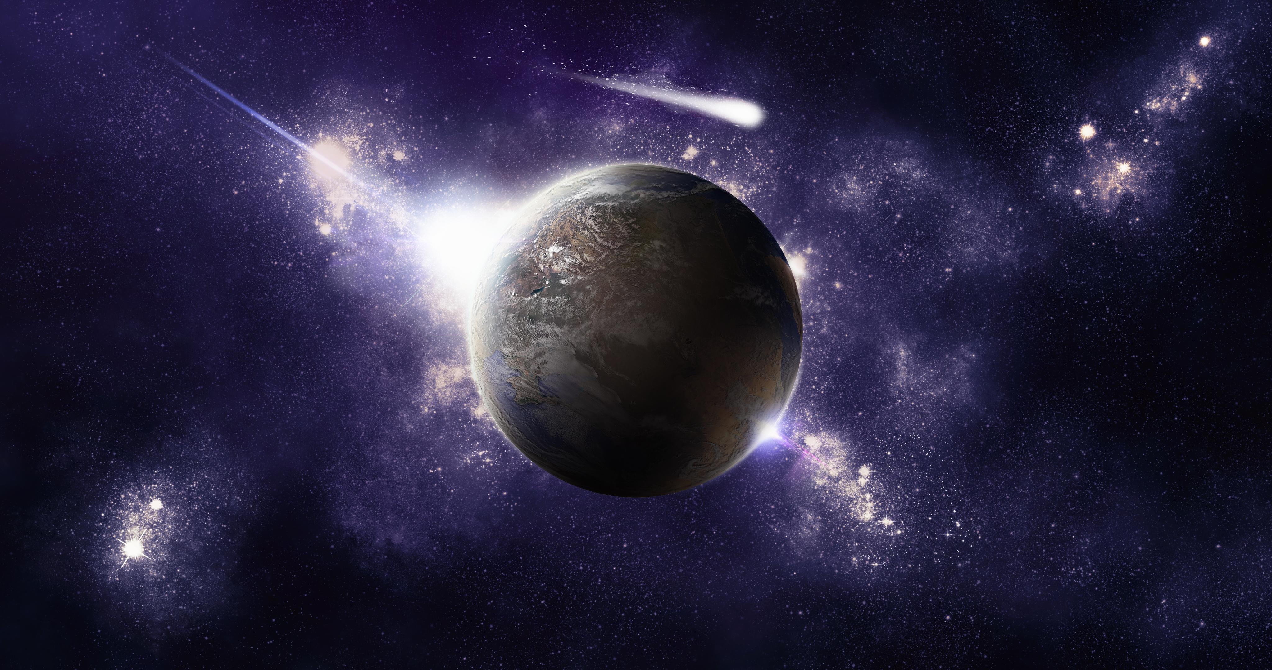 Обои космос, планеты, вселенная
