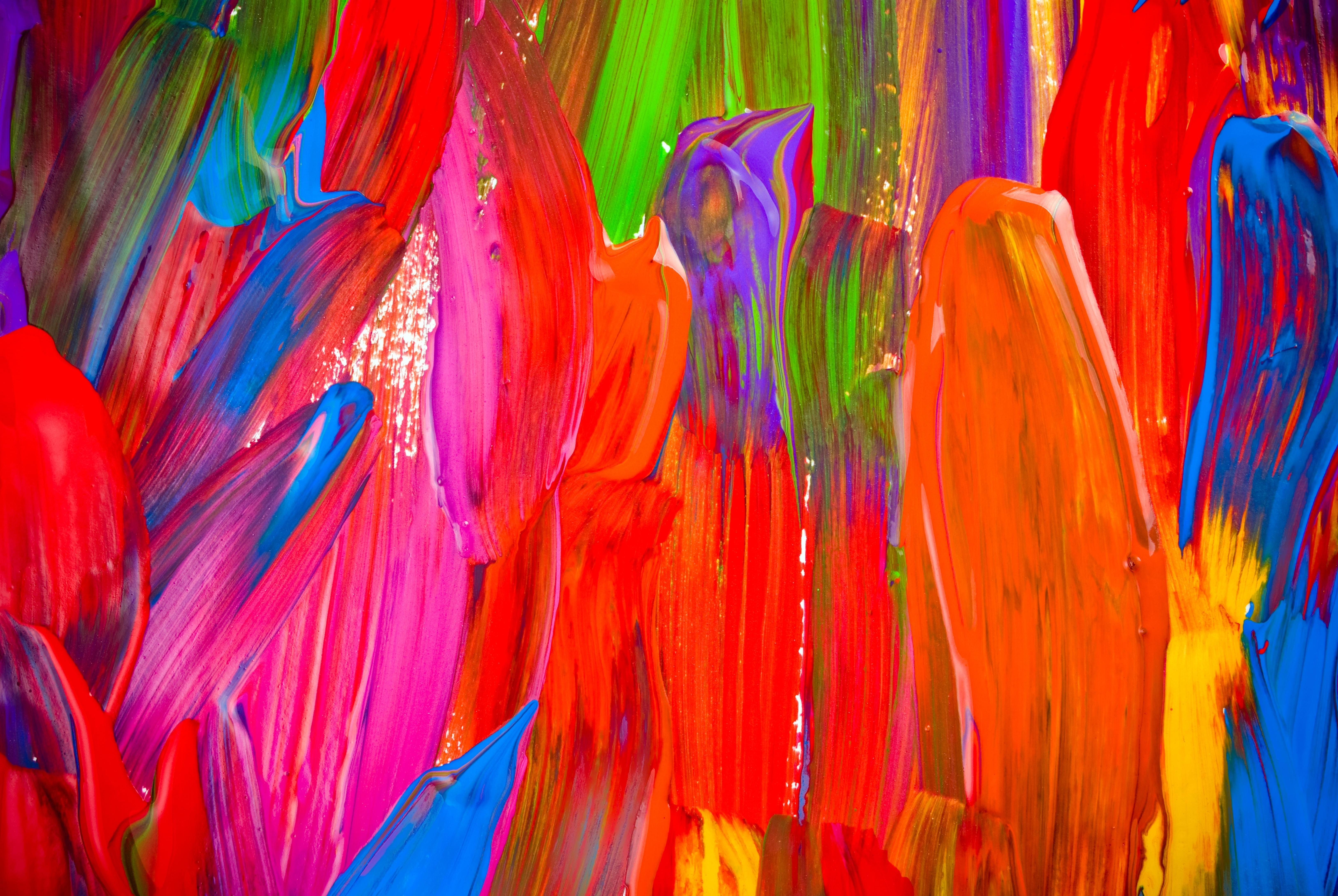 Как сделать рисунки на ногтях акриловыми красками пошагово 73