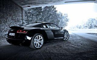 Фото бесплатно автомобиль, скорость, ауди
