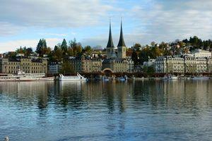 Бесплатные фото Город,Люцерн,Швейцария