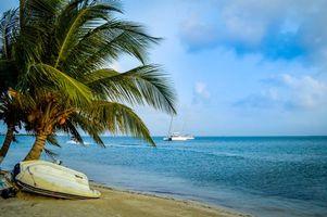Заставки море, остров, панама