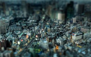 Бесплатные фото город, здания, дороги, огни