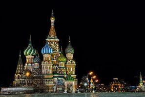 Фото бесплатно Красная площадь, Россия, Собор Василия Блаженного