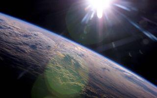 Бесплатные фото планета,земля,ландшавт,орбита,солнце,невесомость