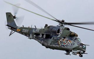 Бесплатные фото вертолет, кабина, винты, хвост, аэрография, тигр, полет