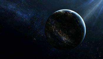 Фото бесплатно планета, Земля, Луна, спутник