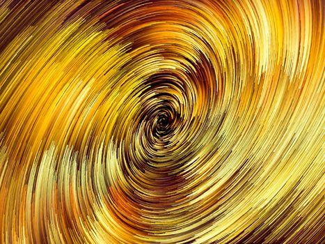 Черная дыра красками · бесплатное фото