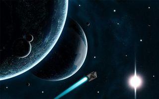 Бесплатные фото космос, вселенная, планеты, звезлы, созвездия, свечение, невесомость
