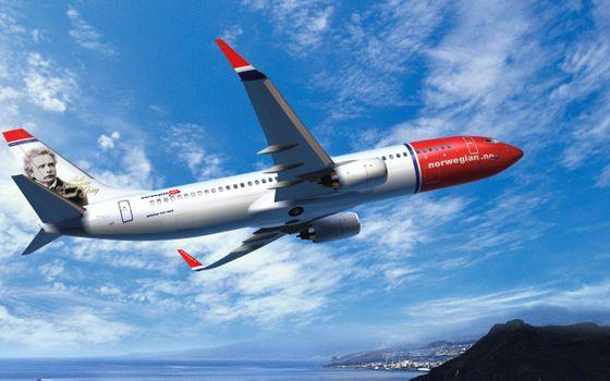 Бесплатные фото самолет,пассажирский,полет,крылья,турбины,хвост,аэрография,небо,облака,море,суша