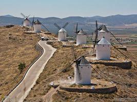 Фото бесплатно мельница, дорога, трава