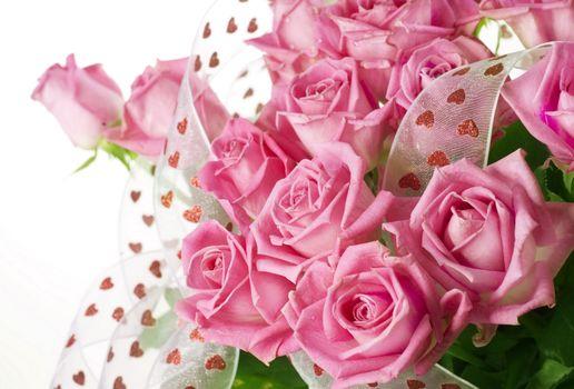 Фото бесплатно розы, розовые, букет