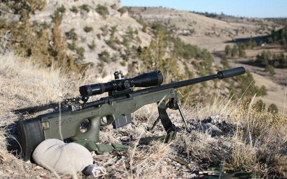 Photo free rifle, sniper, sight