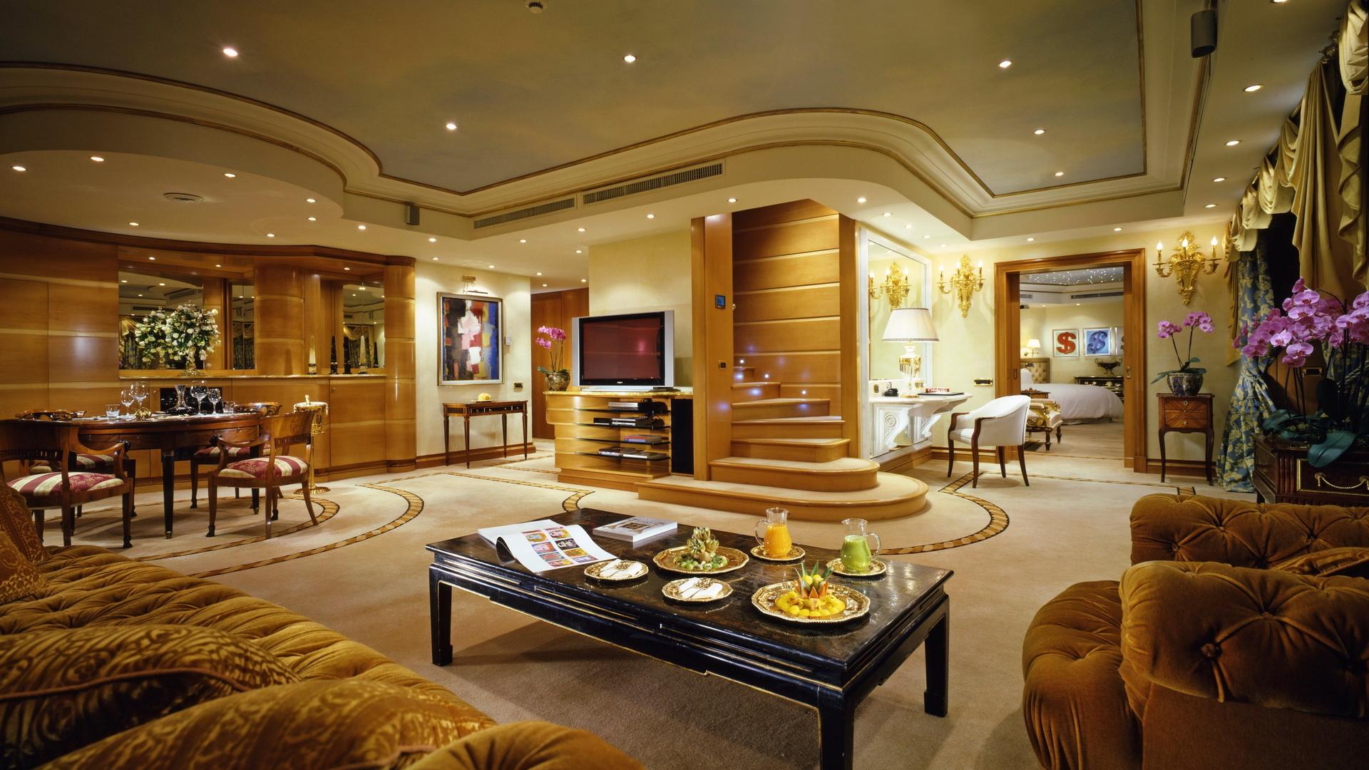гостиная, комната, мебель