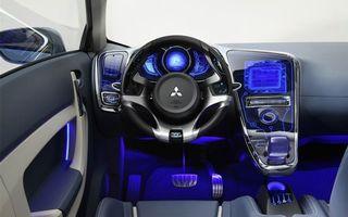 Photo free Mitsubishi, interior, steering wheel