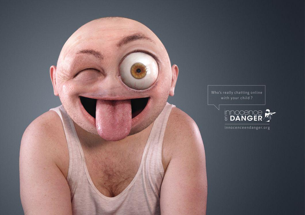Фото бесплатно мужчины, мутант, человек, язык, глаз, рожа, юмор, мужчины
