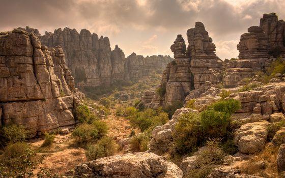 Фото бесплатно природный парк торкаль, антекера, испания