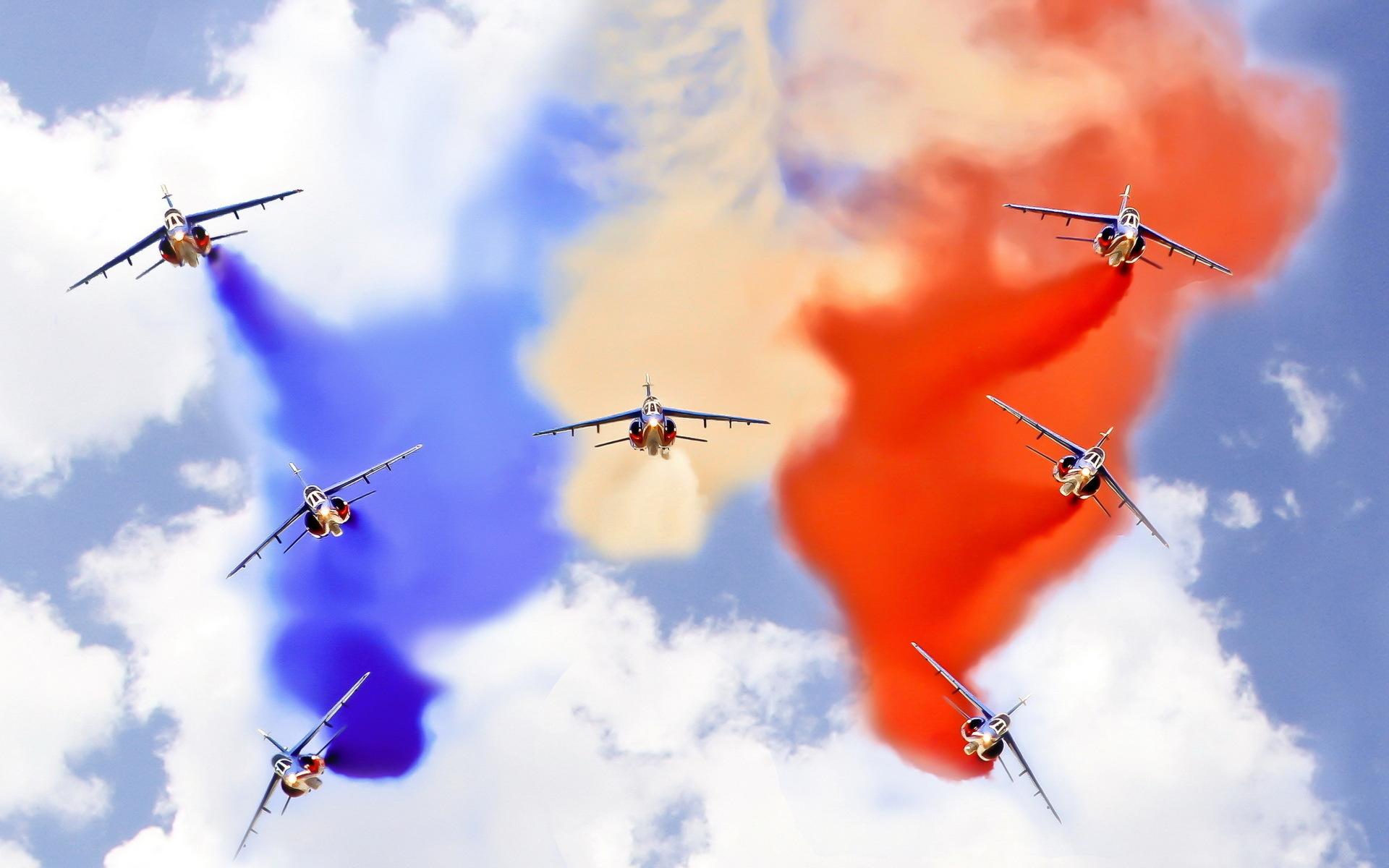 Искры, полет, огонь, вертолет, небо, самолет  № 3749099  скачать
