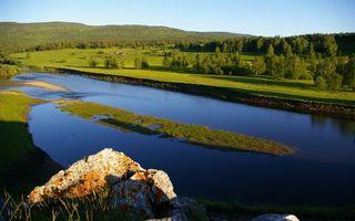 Фото бесплатно трава, вода, деревья
