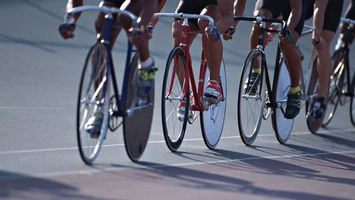 Photo free cycling, bicycles, track