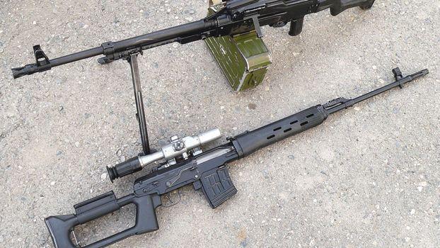 Фото бесплатно винтовка, пулемет, прицел