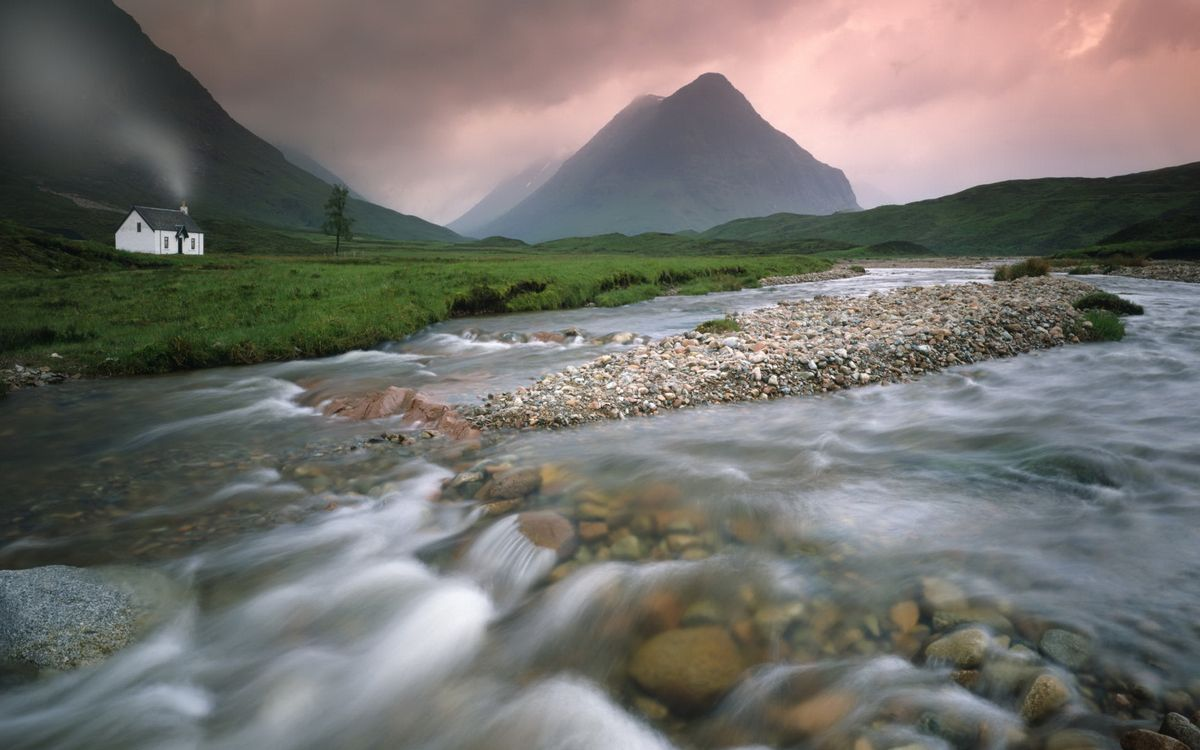 Фото бесплатно вода, река, дом - на рабочий стол