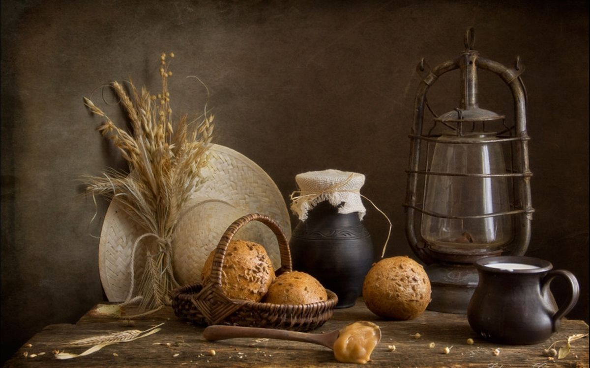 Photos for free bakery, table, spoon - to the desktop