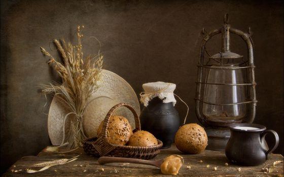 Photo free bakery, table, spoon