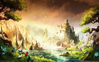 Фото бесплатно trine 2, замок, сказочный