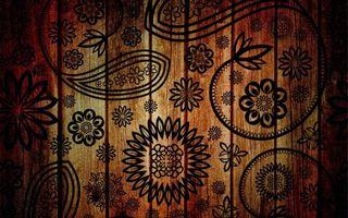 Обои текстура, узоры, дерево, рисунок, цветы, фон, лепестки