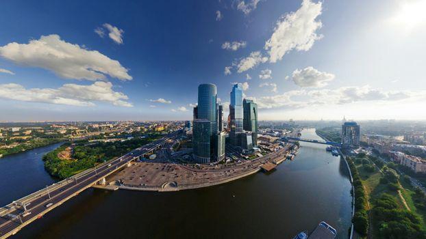 Фото бесплатно река, москва, сити
