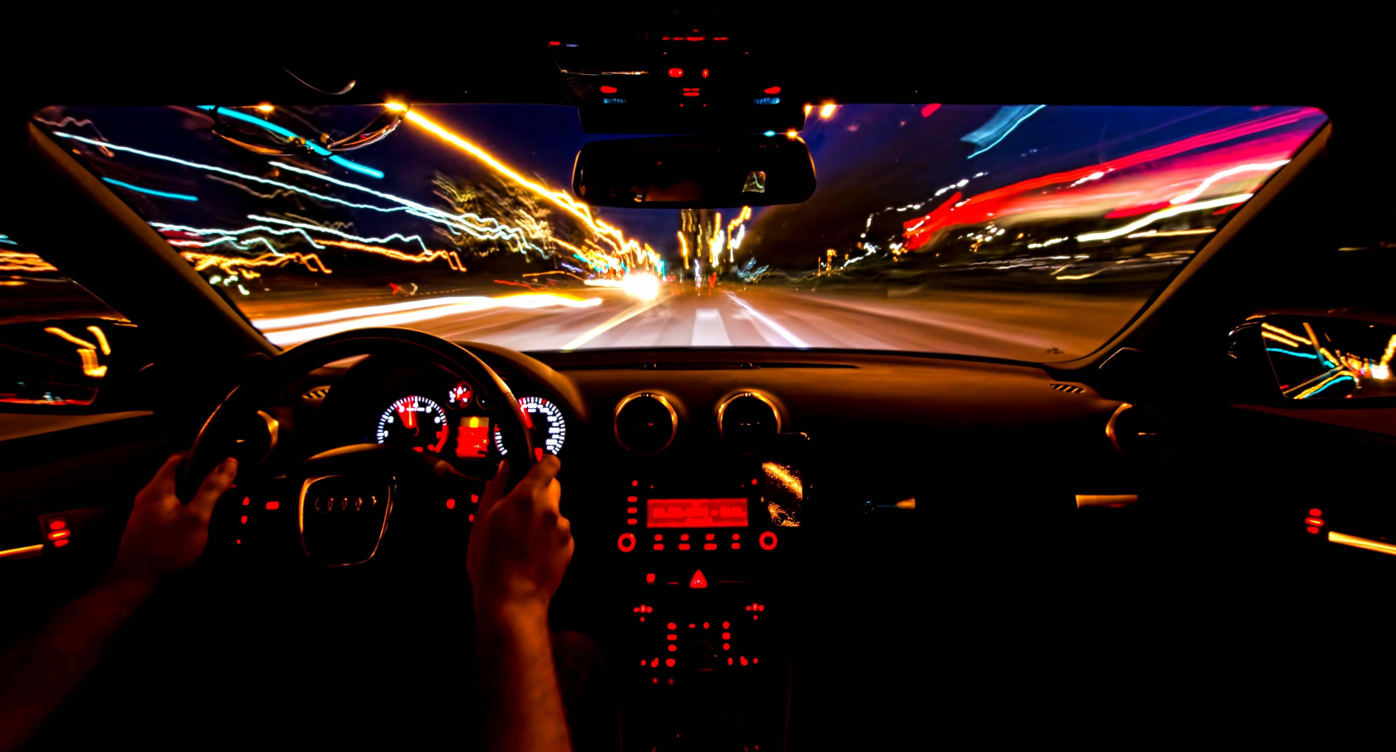 Audi, скорость, салон