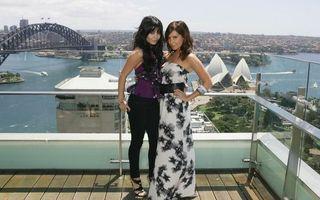 Фото бесплатно балкон, платье, девушки