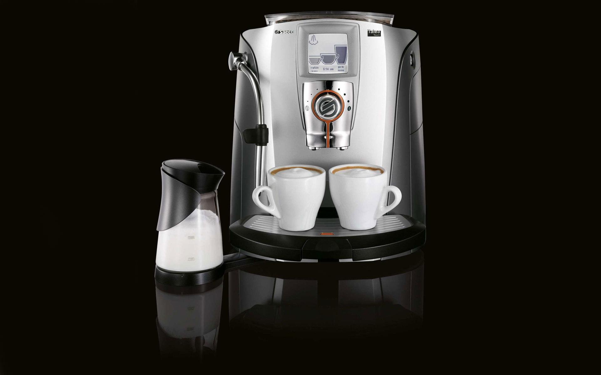 кофе, кружки, белые