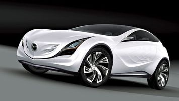 Photo free Mazda, white, concept car