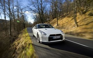 Photo free nissan, gt-r, white