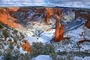 Бесплатные фото пейзаж,каньон,зима,пейзажи