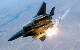 Фото бесплатно самолет, истребитель, пилотаж