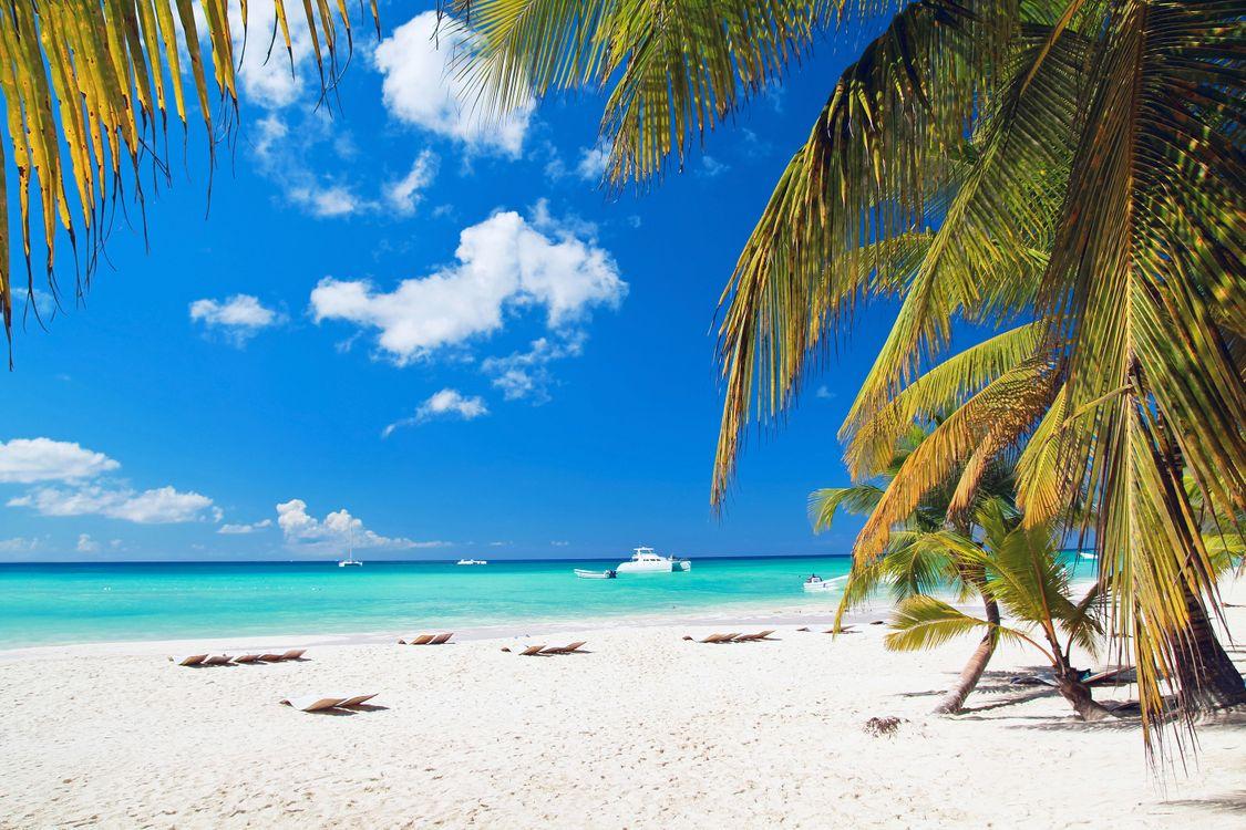 Обои пляж, лодки, пейзажи картинки на телефон