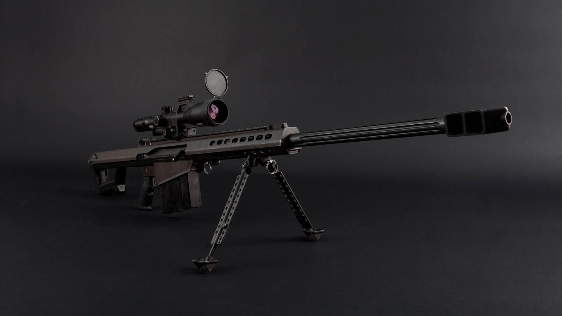 винтовка, снайперская, прицел