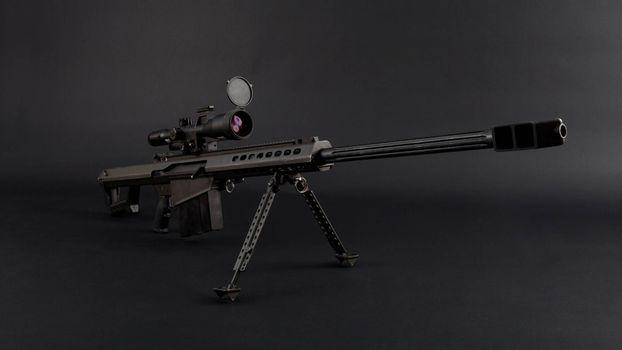 Фото бесплатно винтовка, снайперская, прицел
